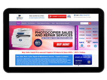 Copier & Printer Website Design, Web Development and Seo Marketing